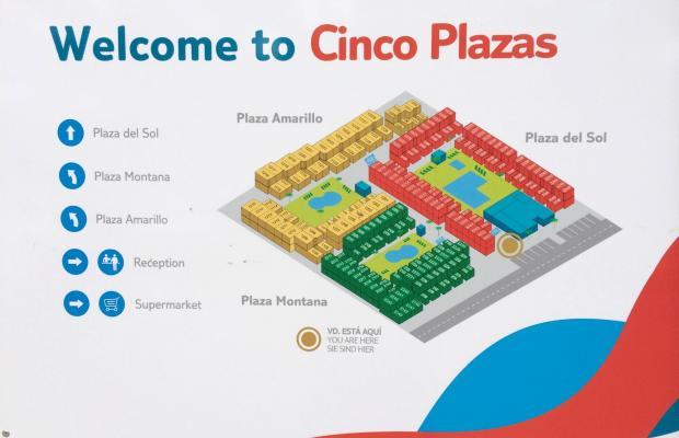 фотографии отеля Cinco Plazas изображение №39