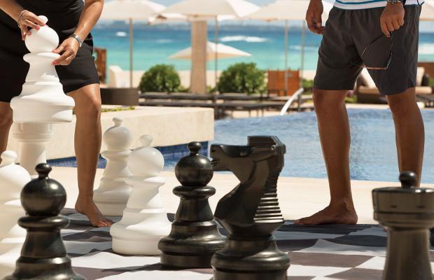 фотографии отеля Hyatt Ziva Cancun (ex. Dreams Cancun; Camino Real Cancun) изображение №7