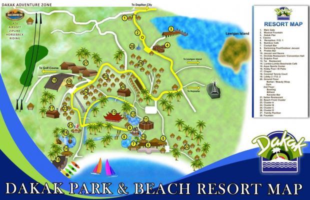 фото Dakak Park Beach Resort изображение №2