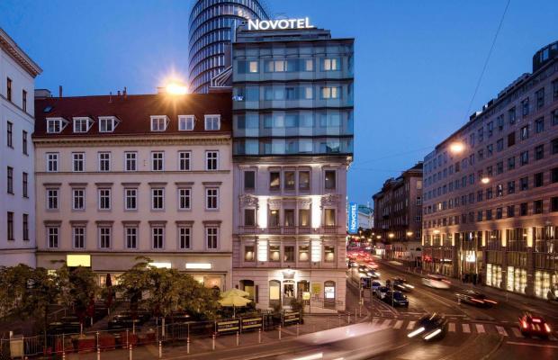 фотографии отеля Novotel Wien City изображение №31